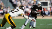 Former Raiders receiver Cliff Branch