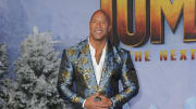 """Dwayne """"The Rock"""" Johnson at the Premiere Of Sony Pictures' """"Jumanji: The Next Level"""" - Arrivals"""