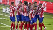 Alvaro Morata, Angel Correa, Koke, Santiago Arias