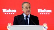 Madrid-Präsident Florentino Perez äußerte sich erneut mit wirren Thesen