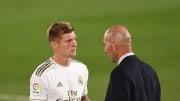 Kroos and Zidane