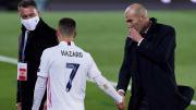 Zinedine Zidane head Coach, Eden Hazard