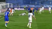 El Real Madrid se impuso al Getafe por dos goles a cero