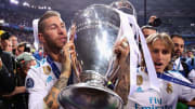 Sergio Ramos, con la Champions League