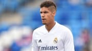 Raphael Varane's Man Utd move has been delayed