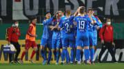 Holstein Kiel freut sich über den geschichtsträchtigen Einzug ins DFB-Pokal-Halbfinale