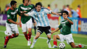 Lionel Messi participou da Copa do Mundo de 2006.