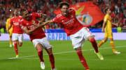 Benfica teve performance de destaque na vitória incontestável contra o Barcelona