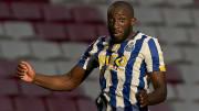 Moussa Marega hava topuna çıkıyor.