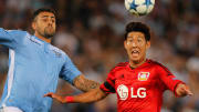 Heung-min Son (r.) nutzte Bayer Leverkusen als Sprungbrett, um in die Weltklasse aufzusteigen