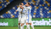 Laga antara Napoli dan Inter berakhir imbang 1-1