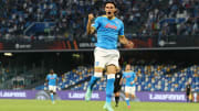 Eljif Elmas'ın gol sevinci