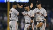 The Giants have a chance to win a pivotal four game series against the Dodgers tonight.