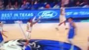 Hawks high-flyer John Collins drained an impossible halfcourt shot against the Mavericks