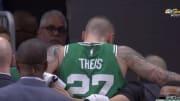 Boston Celtics center Daniel Theis