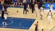 New York Knicks' Bobby Portis got ejected for throwing ball at Washington Wizards' Shabazz Napier