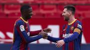 Ousmane Dembele, Lionel Messi au FC Barcelona