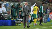 Javier Aguirre en el mundial de Sudáfrica 2010, 10 años antes de dirigir al Leganés