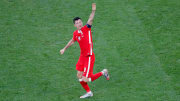 Lewandowski scored two in Poland's defeat