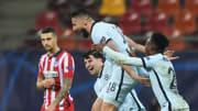 Giroud et ses coéquipiers se sont qualifiés pour les quarts de finale de la Ligue des Champions.