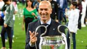 Zidane, triple vainqueur de la Ligue des Champions sur le banc du Real Madrid.