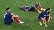 Les Bleus s'arrêtent en huitième de finale