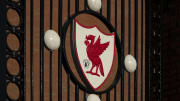 The Liver Bird on the Bob Paisley Gates