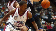 Former Houston Rockets guard Steve Francis