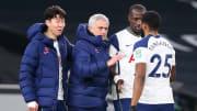 Jose Mourinho, Son Heung-Min, Moussa Sissoko, Japhet Tanganga