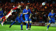 Massimo Maccarone's header took Boro to the UEFA Cup final