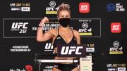 Paige VanZant, UFC 251 Usman v Masvidal: Weigh-Ins