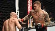 Dustin Poirier vs Conor McGregor 3 odds released for UFC 264 on FanDuel Sportsbook.