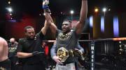 Francis Ngannou gets his belt.