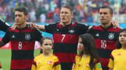 Jerome Boateng, Mesut Oezil, Bastian Schweinsteiger, Lukas Podolski