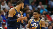 Donovan Mitchell reveals he was furious at Rudy Gobert for spreading the coronavirus.
