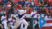Yadier Molina está jugando con Puerto Rico en la Serie del Caribe 2021