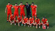 Wales produced another unconventional team photo ahead of their Euro 2020 fixture
