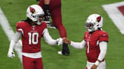 DeAndre Hopkins and Kyler Murray