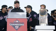 Washington Nationals owner Ted Lerner at the World Series victory parade