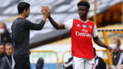 Bukayo Saka has been excellent for Arsenal