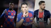 Ousmane Dembélé, Luis Suarez, Sami Khedira font l'actu mercato