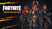 A new darker Magma Masters skin pack is currently available through the Epic Games store, here's how to get it. | Photo by Epic Games
