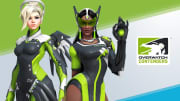 New Skins for Mercy and Symmetra can be earned by watching Contenders matches