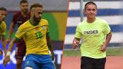 Neymar has edged closer to Sunil Chhetri in international goals tally