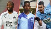 Steve Mandanda, Paul Pogba et Riyad Mahrez.