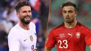 Olivier Giroud et Xherdan Shaqiri répondent toujours présent en sélection.