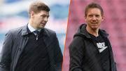 Steven Gerrard et Julian Nagelsmann incarnent la nouvelle génération des jeunes entraîneurs.