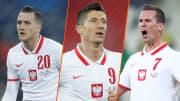 Zielinski, Lewandowski, Milik et la Pologne s'attendent à aller loin durant l'Euro 2020.