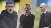 Christophe Galtier, Franck Haise, Zinédine Zidane