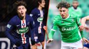 Adil Aouchiche est parti à Saint-Etienne après des débuts prometteurs au PSG.